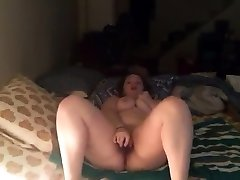 Big butt wet malaysia pussy stuffs toy in big boob messy roo ass