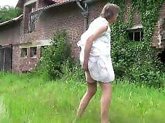 transvestite tranny in ligerie dildos near the farm 148