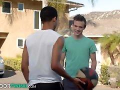 NextDoorTwink - Scott Finn Helps Black Teen With His Form