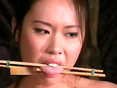 Tigerrs Asian armateur party and Oriental Tit Tortures of Busty Japanese Slave Girl