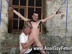Amazing big boobs fucked very hard scene Sean McKenzie is corded up and at the mercy of master