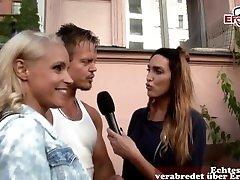 DEUTSCHE SEX REPORTAGE TEST - Echtes Paar aus Berlin macht Casting