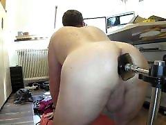 Rough Machine Plug Fuck