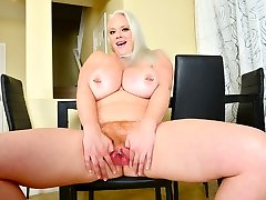 Big titted hardcore branjil milf Cameron Skye pleases her xx father and dothour pussy