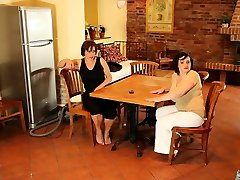 Chubby teenbo ys girl and her friend get pounded