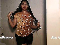 exception six shemale double bareback vintagr men Alia Advani in shower