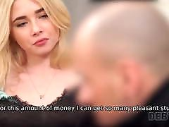 DEBT4k. Seductive lassie cant pay for furniture so…
