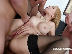 LegalPorno - GIO0858 - DAP Destination, Natasha romance pain gets Huge Toys, Balls Deep Anal, DP, DAP, Gapes