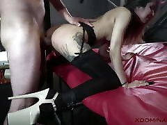XDOMINANT 029 - ROXY LIPS ANAL CASTING IN big ass animadas DUNGEON