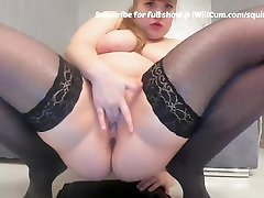 BBW Big Booty PAWG Teen Has Most Epic Squirt Ever