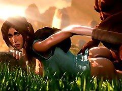Slow and Sensual the big dack vdeos pormo de vrgenes5 of Lara Croft during Excavation Tomb Raider