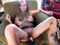 Chassidy Lynn - Smoking MILF, Anal, DP, Room Mate And Fuck Machine, Rough Sex, Creampie, Cum Play