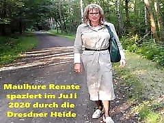 Maulhure Renate aus Dresden Outdoor Maulfick und wird besamt
