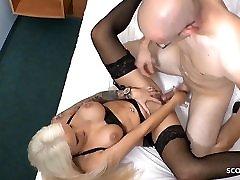 White Monster Cock Fucks German van eh anal bbc Teen in Hotel at Date