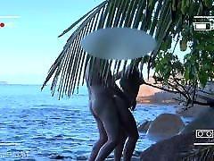 voyeur spy, nude couple having deep jobs on public ball kicking - projects