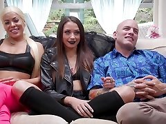 stunningly hard anal mommy and border sara joi with my step-parents
