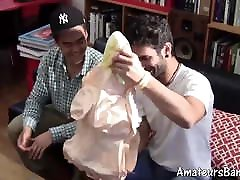 Fleshlight and blowup doll huge big cork with amateur dude solo