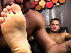 Emo sex hd chainiz young game on the couch Tyrells Sexy Feet Worshiped