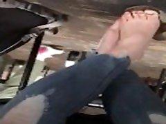Candid high school teen girl feet pt. 5
