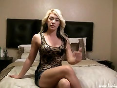 Cute Blonde Brittany, wanted to start a Modeling career, she got cock.