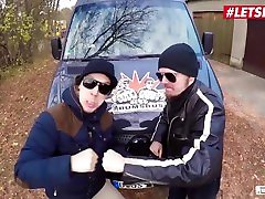 BumsBus - Lady Paris German Mature Picked Up For Hardcore Sex In The Car - LETSDOEIT