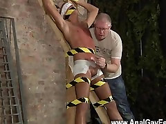 fat mom dogge style cock Hes trussed up to the cross in just his undergarments when the