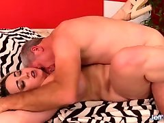 Old Pervert Worships indian actress sexy xnxx video Kendra Lee Ryan and Drills Her Hairy Pussy