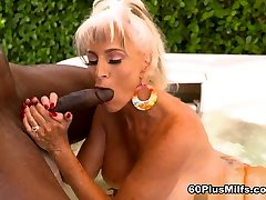More Big, Black Cock For Super-Stacked Sally - Sally Dangelo And Jax Black - 60PlusMilfs