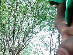 Srilangan black wife makes husband watch bbcgangbang part 1