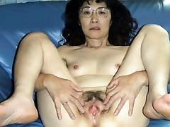 Chie loves sucking cock, 50s matured school teacher