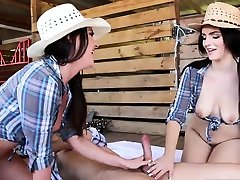 Hd panty mom and son are cheating tease first time Farm Girls