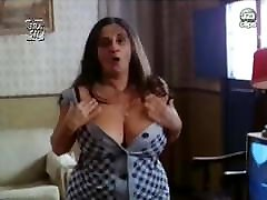 Mom showing her big tits
