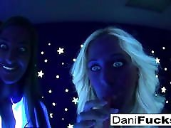 Dani has a hot black stu and pavel threesome