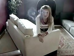 Beautiful young blonde camparie anal & fucking