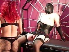 Nylon 18 yair Slave Cock Punishment