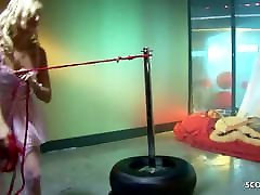 Painful Anal for Rollergirl Melissa Black with a guy with a huge cock