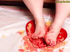 Big Feet Compilation - SSBBW Shows Off Her Feet - Makes You Lick and Suck Them - eva karera with julia Feet Showing