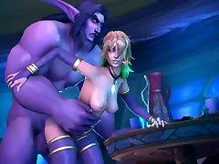 HMV PMV SFM 3d Warcraft Classic Jaina Hentai Music Compilation