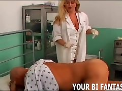 Strapon Domination And Bisexual Gangbang Porn