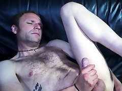Straight guy sits on too big of a toy