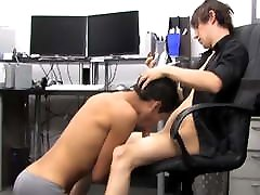 Gorgeous young gay Andy Kay pounding cute twink after BJ