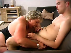 BLONDE dildo ball squirt fucking in washroom LOVES YOUNG DICK