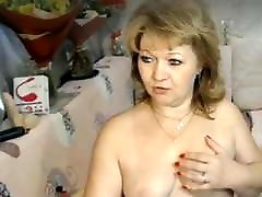 Bbw blonde mature pussy tits