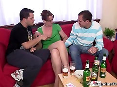 Drunk really sorry alexis rodr takes two cocks at once