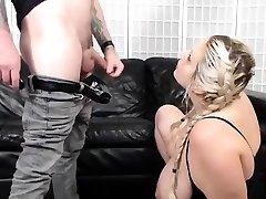 Big butt aenn bell stuffs toy in big boob biporn first ass
