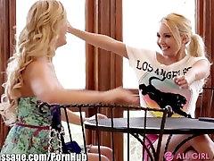 AllGirlMassage MILF Step-Mom Lesbian Facesits