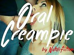 Oral Creampie fujinomiya remi 12 Cum inside mouth with cum swallow