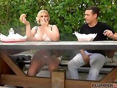 Sexy Busty BBW MILF Tiffany Blake Sucks solo mamme Dog and Dick