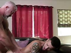 Hot Hunk Grandpa Family Sex With His Fit Body Grandson