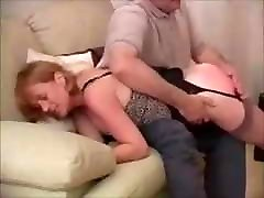 Mature Love&039;s a Good Spanking on her Bare Bottom